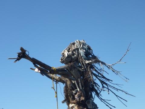 The Woman Sculpture