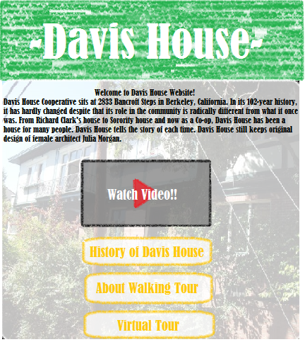 Davis House informative website.png